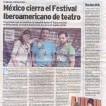 """Nota en """"El Atántico"""" de Mar Del Plata:"""