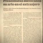 """Nota en """"El Independiente"""" de Zamora, Mich."""