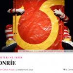 """Crítica a """"Sonríe"""" en entretenia.com, por Juan Carlos Araujo:"""