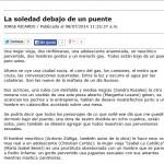 Nota en el periódico AM por Jorge Ricardo: