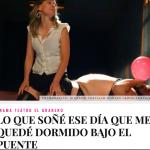 """Crítica a """"Lo que soñé…"""" en entretenia.com, por Juan Carlos Araujo:"""