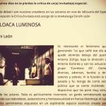 """Crítica a """"Lo que soñé…"""" en Escuela del Espectador por Conchi León:"""