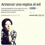 """Crítica a """"Lo que soñé"""" por Luz Emilia Aguilar:"""