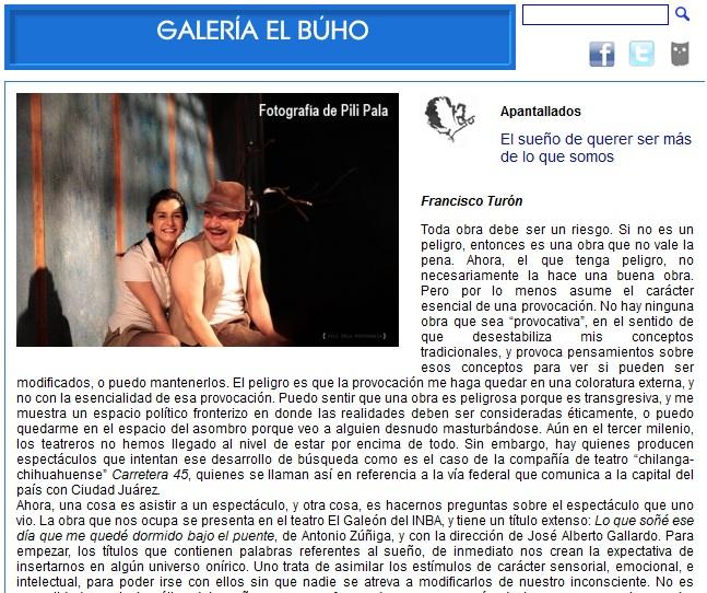 GALERIA BUHO