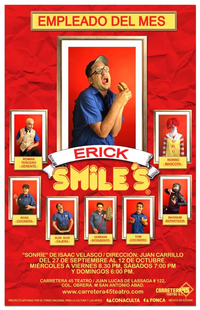 poster ERICK 3sonrie