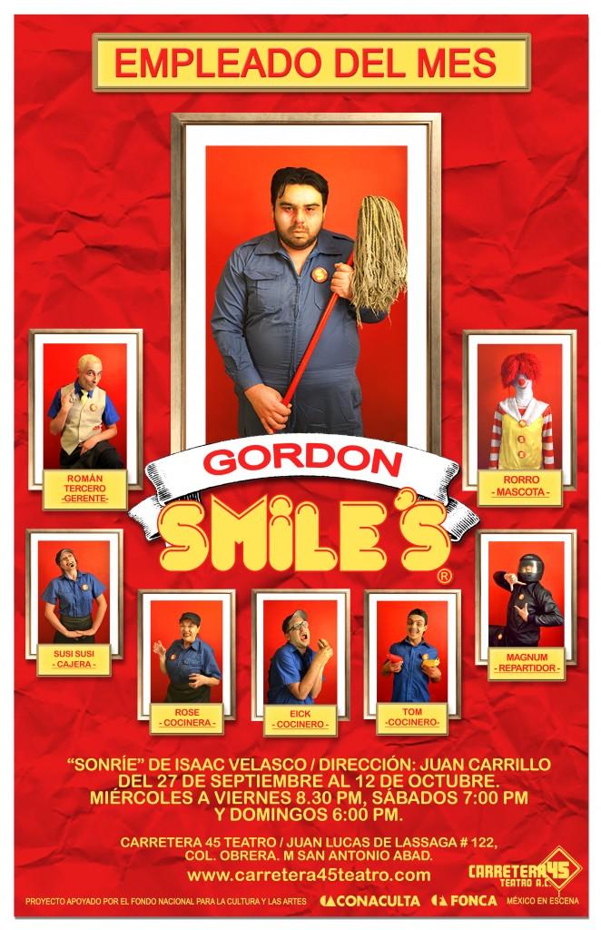 poster GORDON 3 sonrie