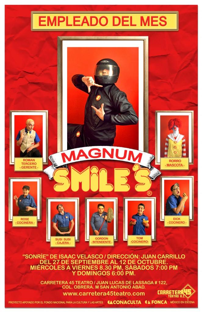 poster MAGNUM 3 sonrie