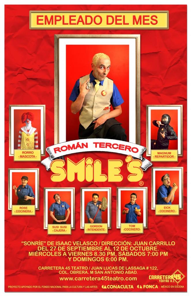poster ROMAN 3 sonrie