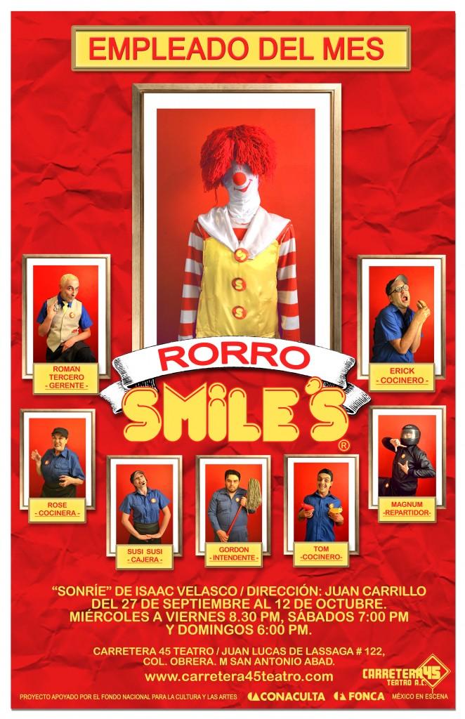 poster RORRO 3 sonrie