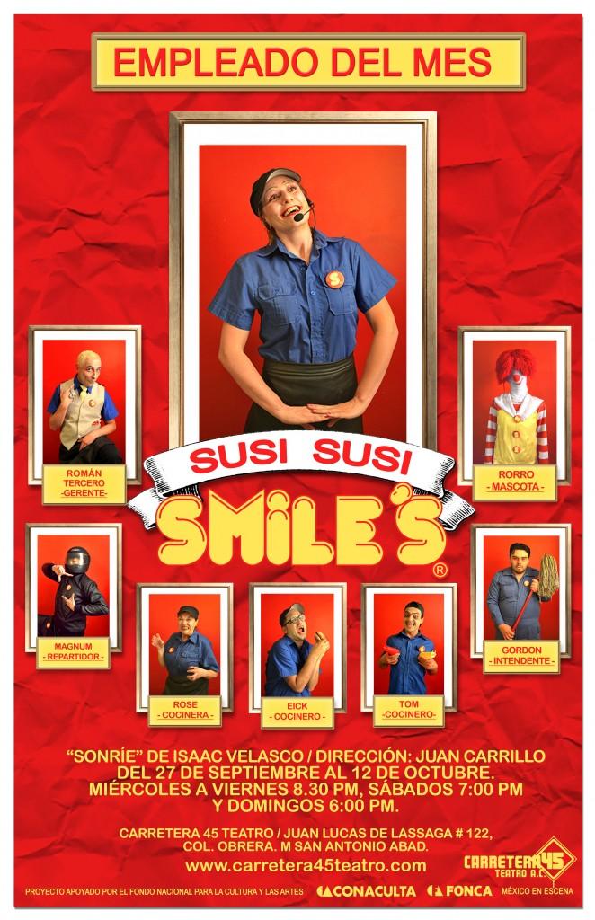 poster SUSI SUSI 3 sonrie