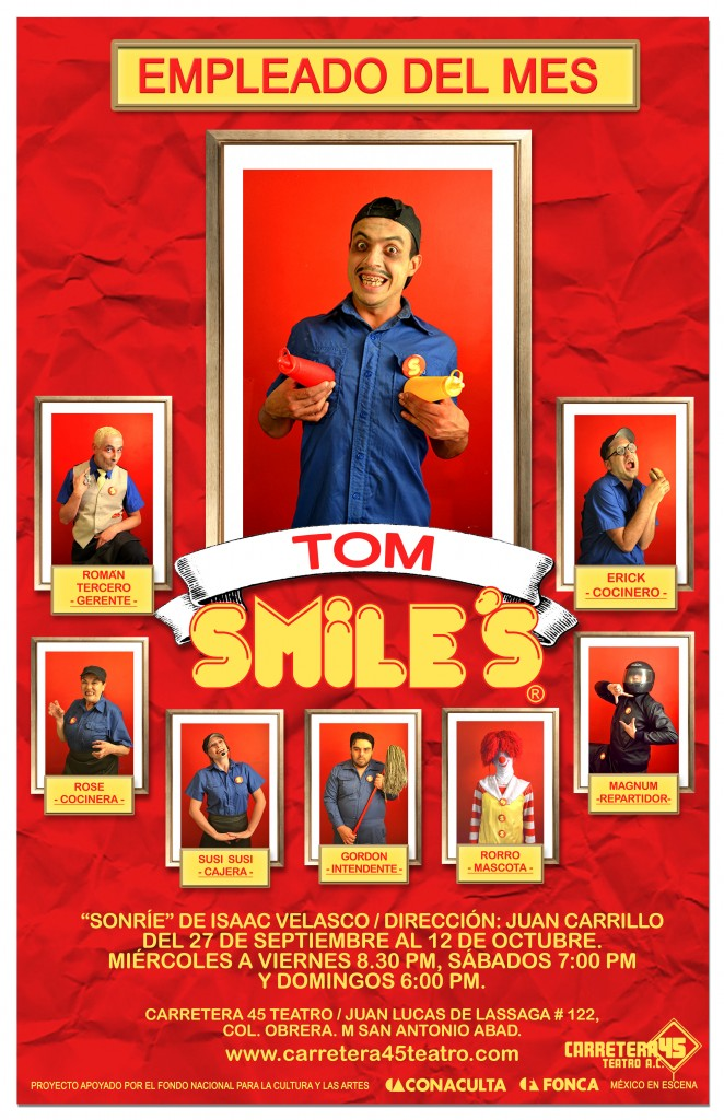 poster TOM 3 sonrie