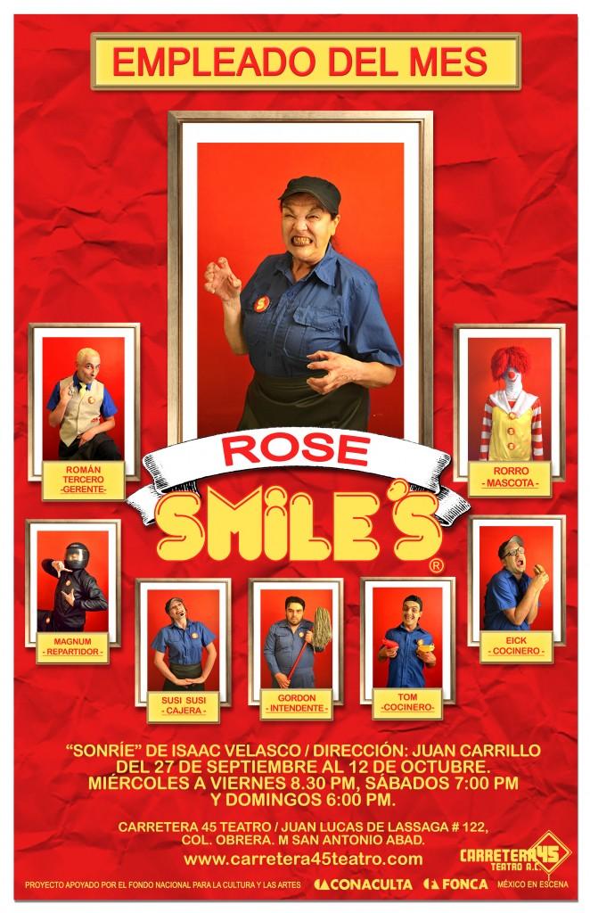poster rose 3 sonrie