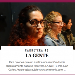 Crítica a La Gente en entretenia.com, por Juan Carlos Araujo: